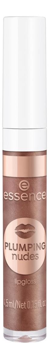 Купить Блеск для губ Plumping Nudes Lipgloss 4, 5мл: 09 Larger Than Life, essence