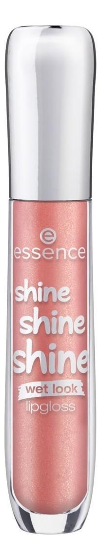 цена Блеск для губ Shine Shine Shine Lipgloss 5мл: No 22 онлайн в 2017 году