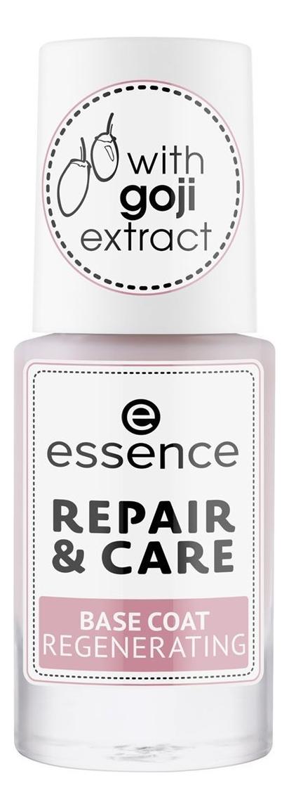 Восстанавливающее базовое покрытие для ногтей Repair & Care Regenerating 8мл regenerating azelaic elixir aravia отзывы