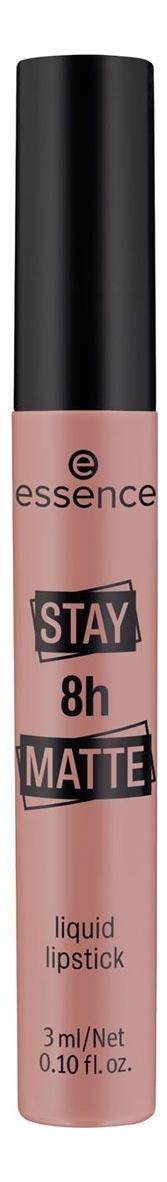 Жидкая помада для губ Stay 8h Matte Liquid Lipstick 3мл: 02 Duck Face