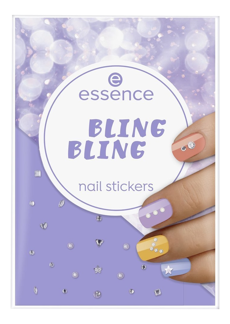 Наклейки для ногтей Bling Nail Stickers