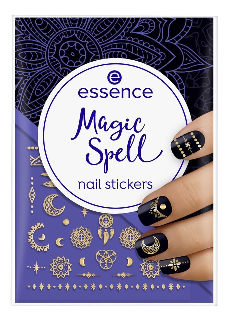 Наклейки для ногтей Nail Stickers Magic Spell