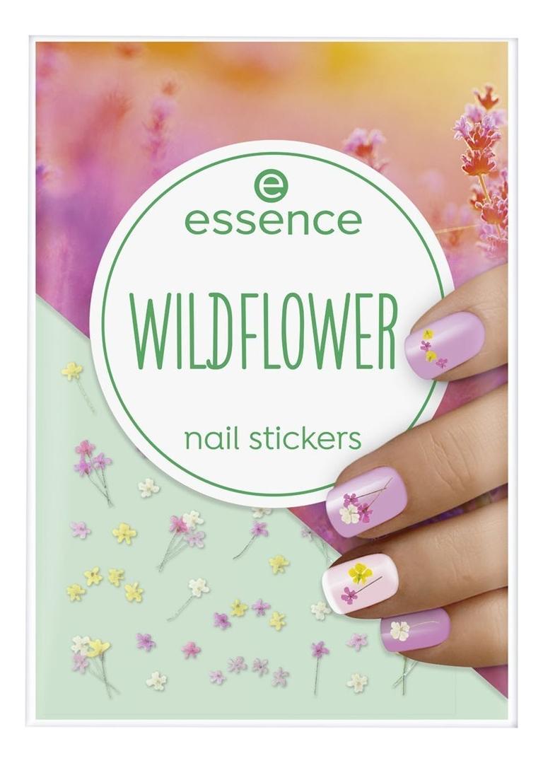 Наклейки для ногтей Nail Stickers Wildflower