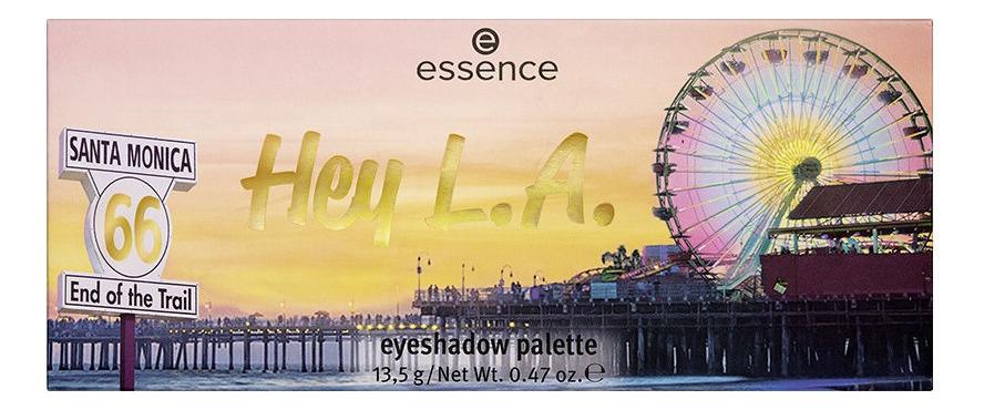 Палетка теней для век Hey L.A. Eyeshadow Palette 13,5г