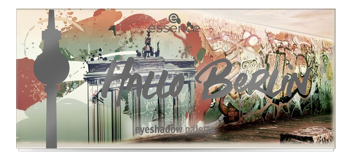 Фото - Палетка теней для век Hallo Berlin Eyeshadow Palette 13,5г палетка теней для век 32 eyeshadow palette 20г flawless