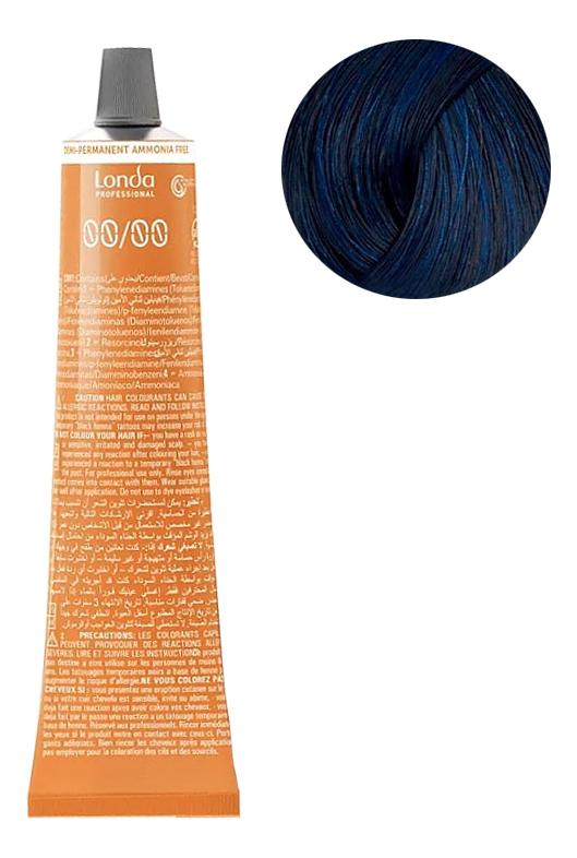 Крем-краска для интенсивного тонирования волос Ammonia Free 60мл: 0/88 Интенсивный синий микстон
