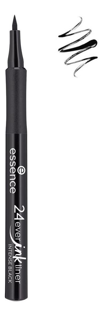 Фото - Подводка для глаз 24ever Ink Liner 1,2мл: 01 Intense Black подводка graphik ink liner подводка фломастер для глаз 01 black