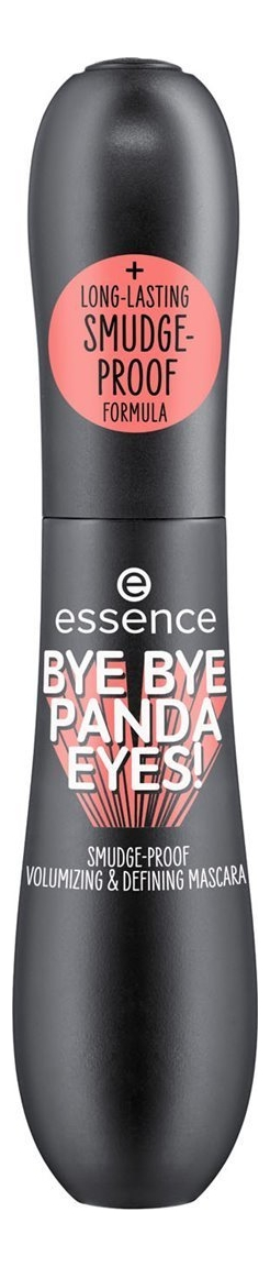 Тушь для ресниц Bye Panda Eyes! Smudge-Proof Volumizing & Defining Mascara Black 16мл