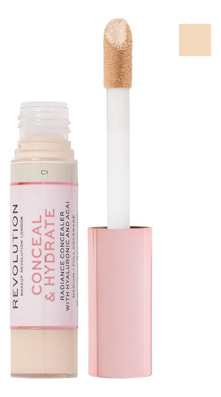 Купить Консилер для лица Conceal & Hydrate: C0.1, Консилер для лица Conceal & Hydrate, Makeup Revolution