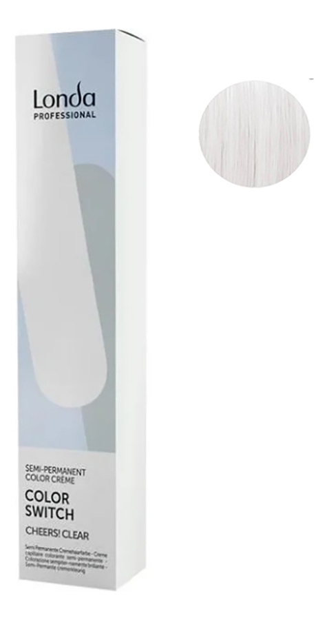 Оттеночная краска для волос Color Switch 80мл: Cheers! Clear