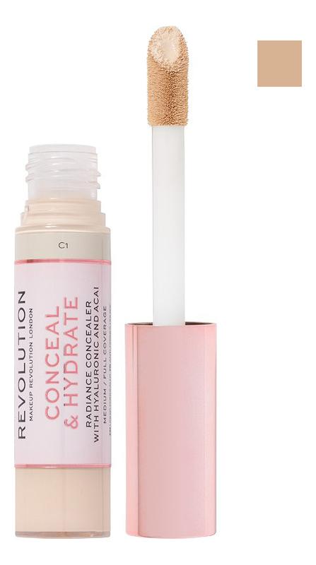 Купить Консилер для лица Conceal & Hydrate: C3, Консилер для лица Conceal & Hydrate, Makeup Revolution