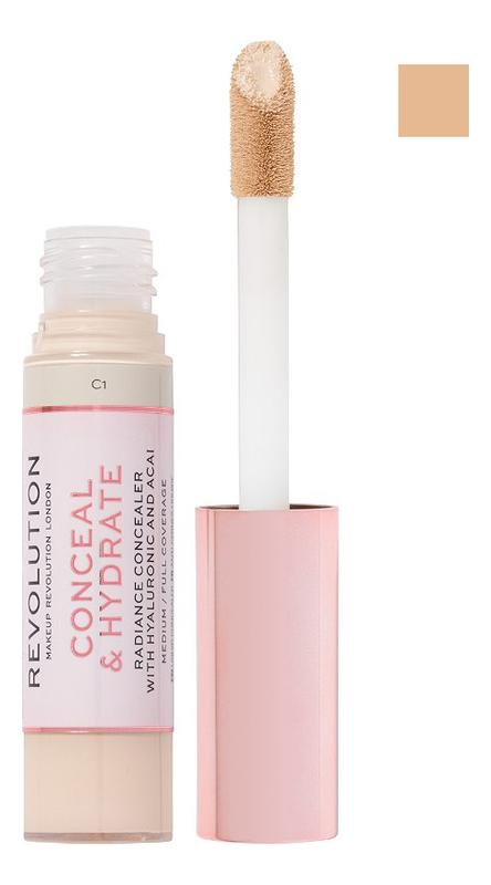 Консилер для лица Conceal & Hydrate: C4, Консилер для лица Conceal & Hydrate, Makeup Revolution  - Купить