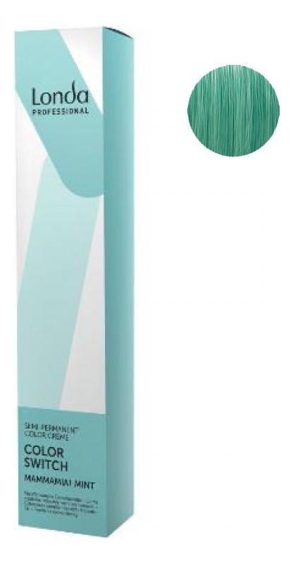 Оттеночная краска для волос Color Switch 80мл: Mammamia! Mint