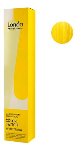 Оттеночная краска для волос Color Switch 80мл: Yippee! Yellow