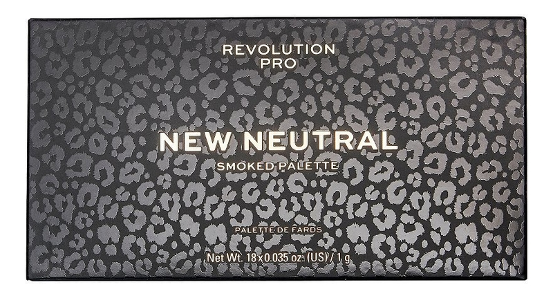 Фото - Палетка теней для век New Neutral Smoked Palette палетка теней для век new neutral smoked palette