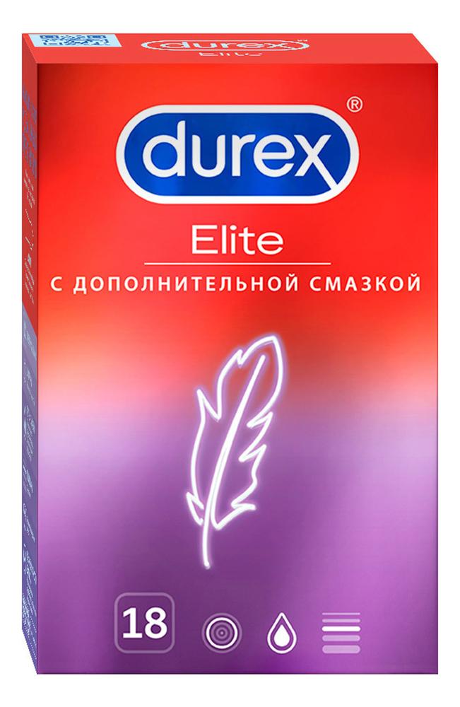 Купить Презервативы сверхтонкие Elite: Презервативы 18шт, Durex