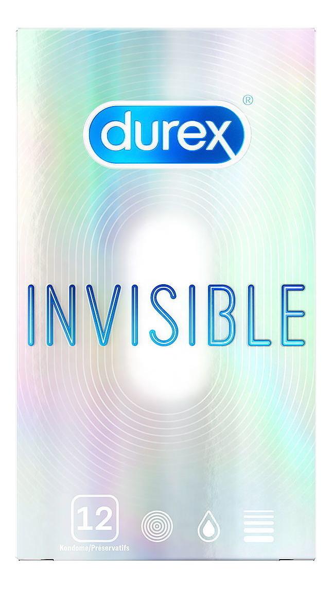 Презервативы ультратонкие Invisible: 12шт