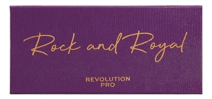 Палетка теней для век Rock And Royal Colour Focus