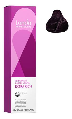 Крем-краска для волос Londacolor 60мл: 3/5 Темный шатен красный цена 2017