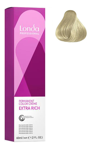 Фото - Крем-краска для волос Londacolor 60мл: 10/1 Яркий блонд пепельный крем краска для волос londacolor 60мл 9 1 очень светлый блонд пепельный