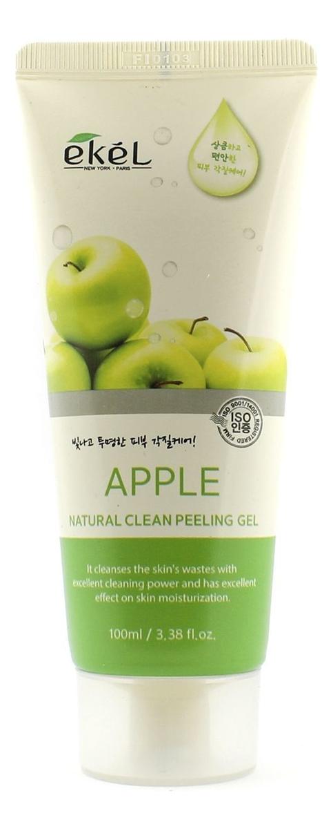 Купить Пилинг-скатка для лица с экстрактом зеленого яблока Apple Natural Clean Peeling Gel 100мл: Пилинг-скатка 100мл, Ekel