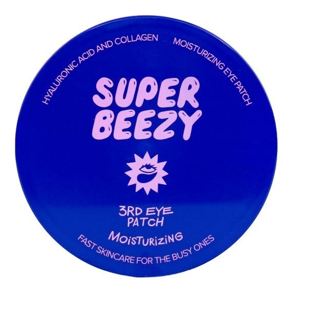 Купить Гидрогелевые патчи для глубокого увлажнения кожи вокруг глаз Moisturizing 3RD Eye Patch 60шт, Super Beezy