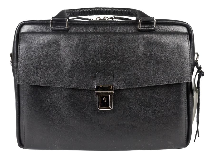 Купить Сумка для ноутбука Terrazzo Black 1031-01, Carlo Gattini