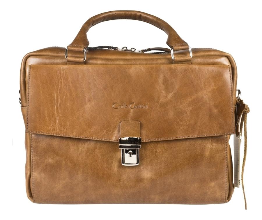Купить Сумка для ноутбука Terrazzo Cognac 1031-03, Carlo Gattini