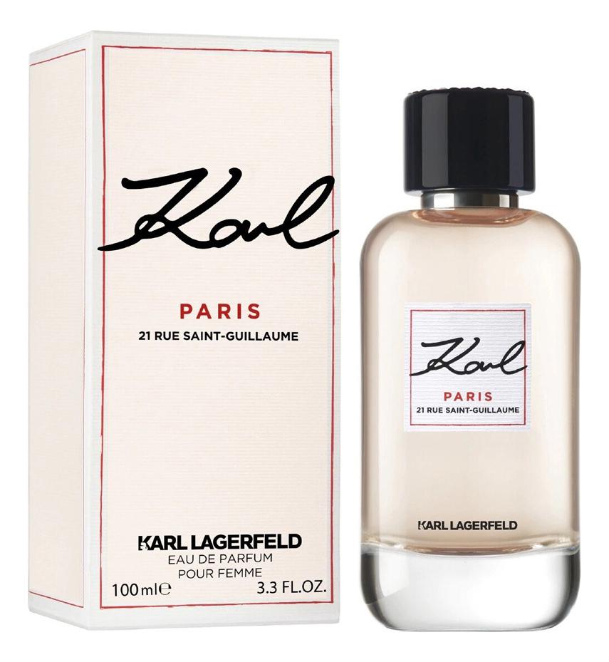 Купить Karl Paris 21 Rue Saint Guillaume: парфюмерная вода 100мл, Karl Lagerfeld