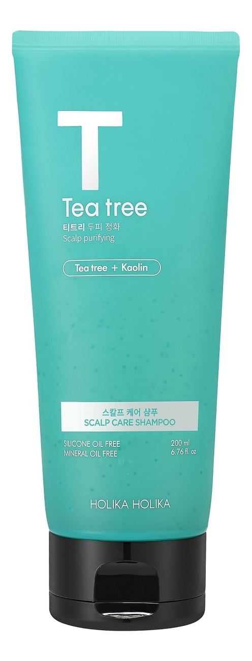 holika holika piece matching nails care dip Шампунь-маска для волос с маслом чайного дерева Tea Tree Scalp Care Shampoo 200мл