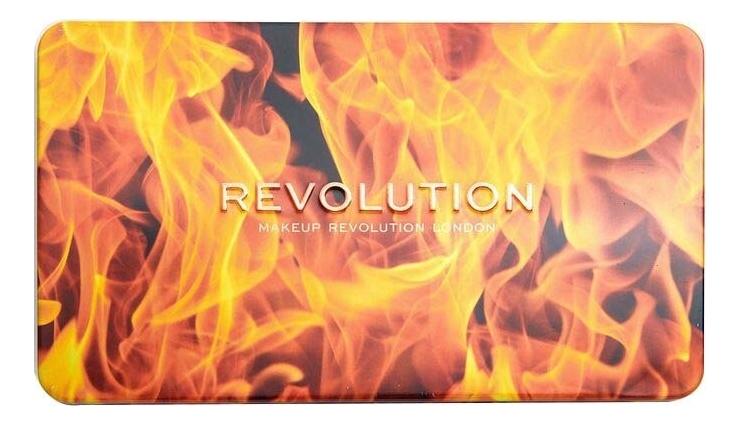 Палетка теней для век Forever Flawless Fire палетка теней для век forever flawless utopia