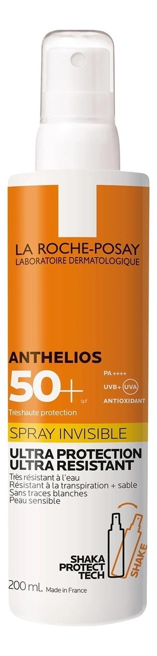 Фото - Невидимый спрей для лица и тела Anthelios Invisible Spray SPF50+ PA++++ 200мл la roche posay anthelios солнцезащитный невидимый спрей spf 50 200 мл