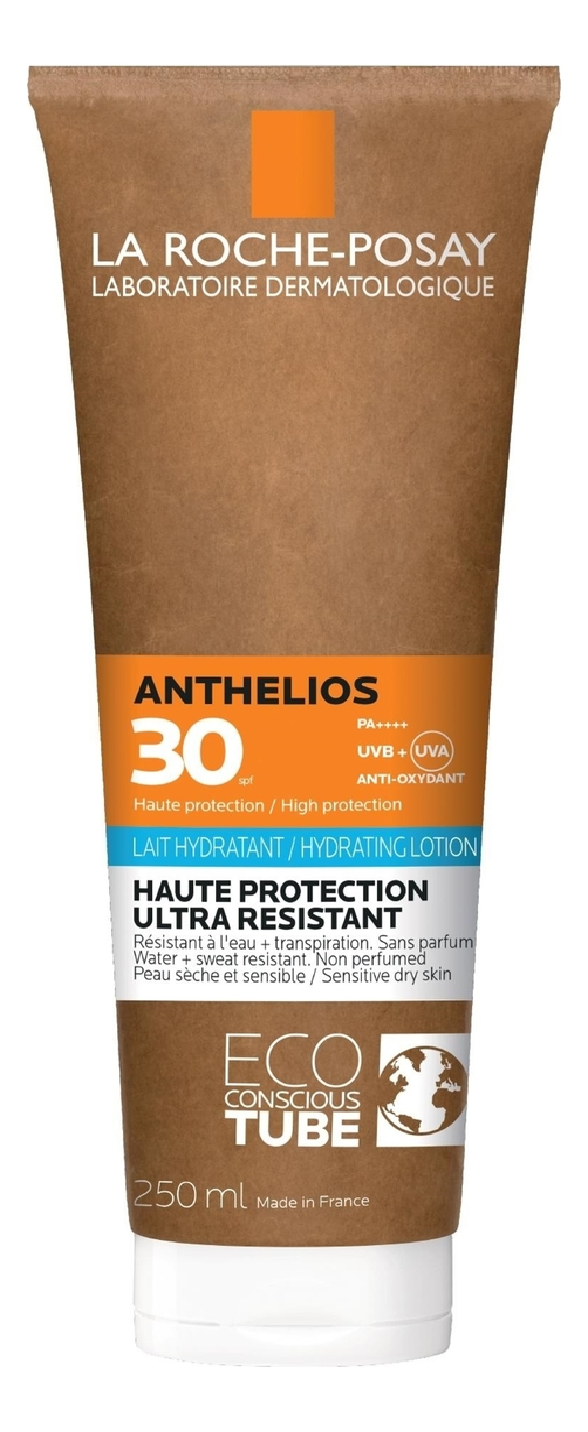 антивозрастное солнцезащитное молочко для тела Spray Lait Fluide Vitamine SPF50 150мл