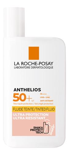 Купить Тонирующий флюид для лица и кожи вокруг глаз Anthelios Tinted Fluid SPF50+ PA++++ 50мл, LA ROCHE-POSAY