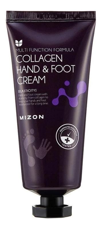 Фото - Крем для рук и ног с коллагеном Collagen Hand And Foot Cream 100мл крем для рук с коллагеном 7% natural s o s hand cream collagen 500мл
