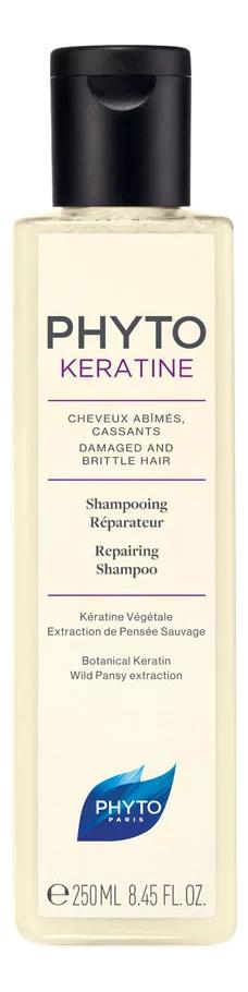 Восстанавливающий шампунь для волос Phytokeratine Shampoing Reparateur 250мл недорого