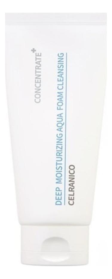 Пенка для умывания Deep Moisturizing Aqua Foam Cleansing 150мл celranico deep moisturizing