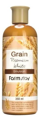 Выравнивающая эмульсия для лица с экстрактом ростков пшеницы Grain Premium White Emulsion 350мл Farm Stay в Москве — купить сыворотку, концентрат для кожи лица по выгодной цене в интернет-магазине, смотреть фото и отзывы на Randewoo.ru