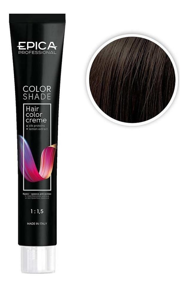 Крем-краска для волос Color Shade 100мл: 5.07 Светлый шатен шоколад холодный холодный светлый блондин