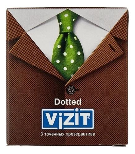Презервативы точечные с силиконовой смазкой Dotted: 3шт