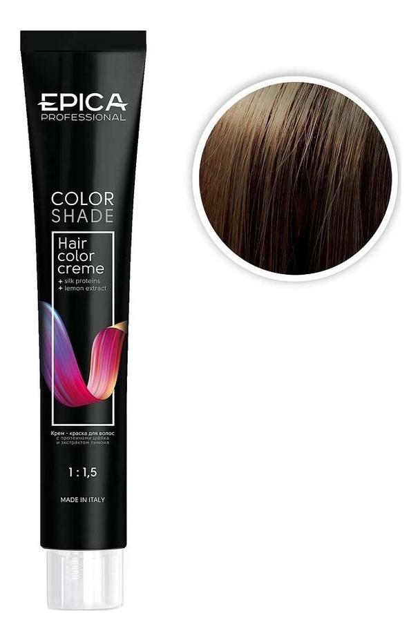 Крем-краска для волос Color Shade 100мл: 6.31 Темно-русый карамельный карамельный цвет волос матрикс