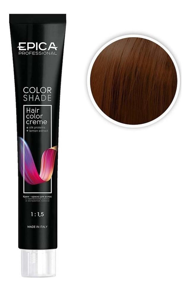 Купить Крем-краска для волос Color Shade 100мл: 6.4 Темно-русый медный, Epica Professional