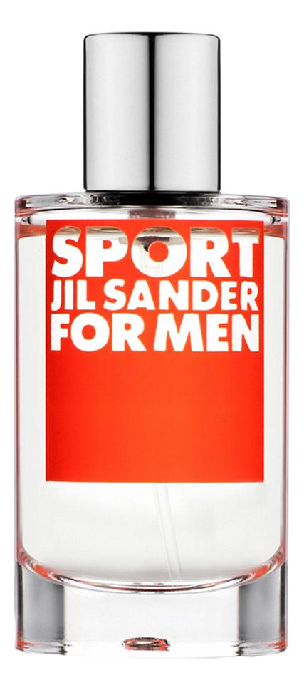 Jil Sander Sport for Men: туалетная вода 100мл тестер цена 2017