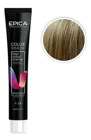 Купить Крем-краска для волос Color Shade 100мл: 9.1 Блондин пепельный, Epica Professional