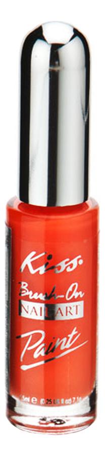 Краска для дизайна ногтей Nail Paint 7,5мл: Neon Orange PA13