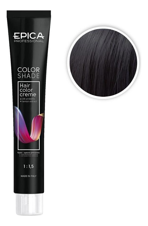 Купить Крем-краска для волос Пастельное тонирование Color Shade 100мл: Графит, Epica Professional