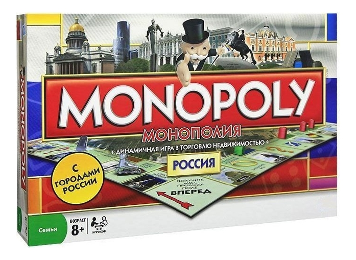 Монополия Россия Monopoly 6155