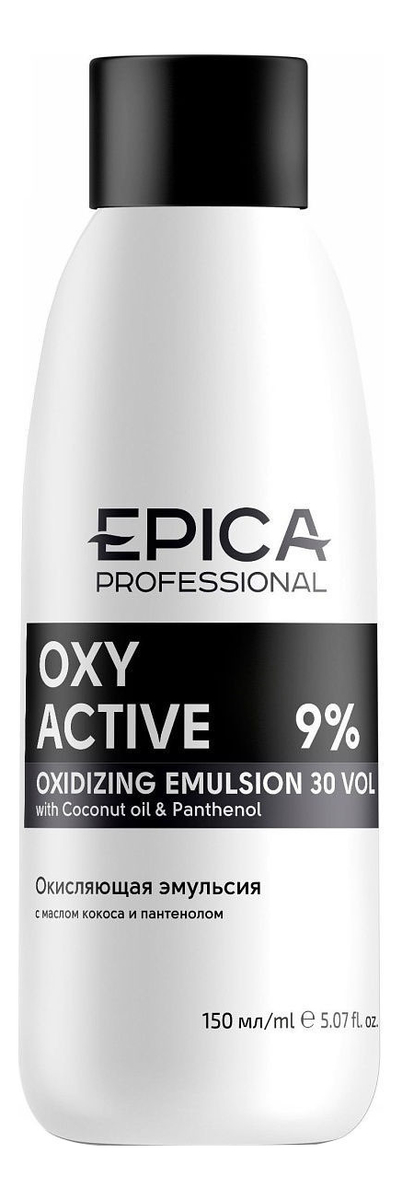 Фото - Кремообразная окисляющая эмульсия с маслом кокоса и пантенолом Oxy Active 150мл: Эмульсия 9% кремообразная окисляющая эмульсия с маслом кокоса и пантенолом oxy active 150мл эмульсия 3%