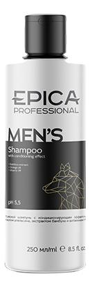Шампунь для волос с маслом апельсина и экстрактом бамбука Men's Shampoo: Шампунь 250мл шампунь с экстрактом ромашки shampoo chamomile 250мл