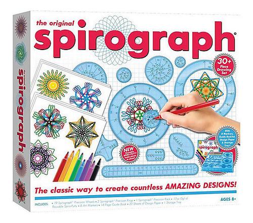 Hasbro Настольная игра Спирограф Starter Set S-01026